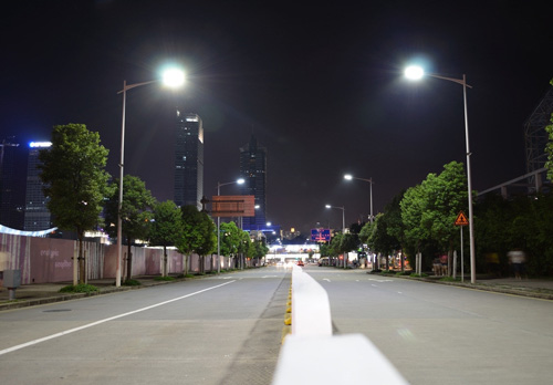 让智能照明充满文艺风情 城市路灯才有家的味道