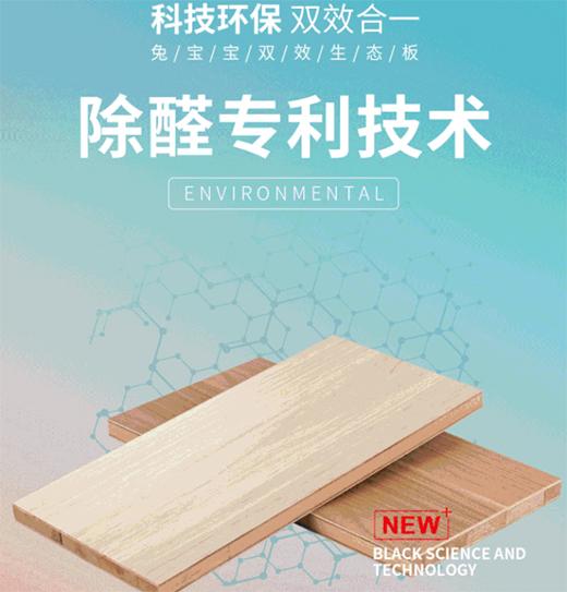 """""""中国十大生态板品牌""""兔宝宝 科技环保 双效合一"""