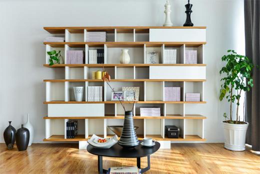 百慕水性木器漆 描绘与书柜的静好岁月