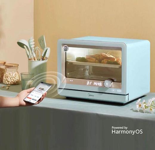 美的与HarmonyOS强强联合名称上,共同布局万物互联时代