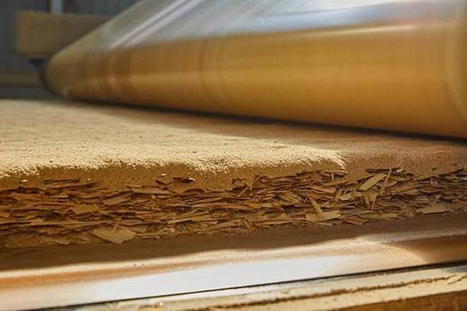 零甲醛添加原木结构板――曲美续写环保体系进化论